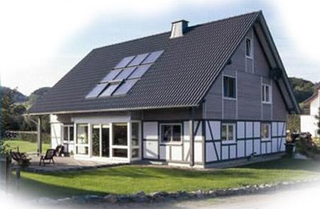 平板式太阳能-屋顶镶嵌式-太阳能热水器