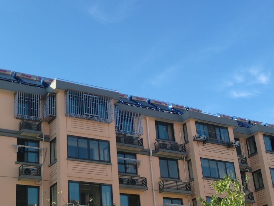 小区配套太阳能热水工程